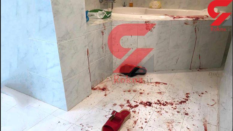 عکس اختصاصی / صحنه قتل میترا نجفی در وان خونین