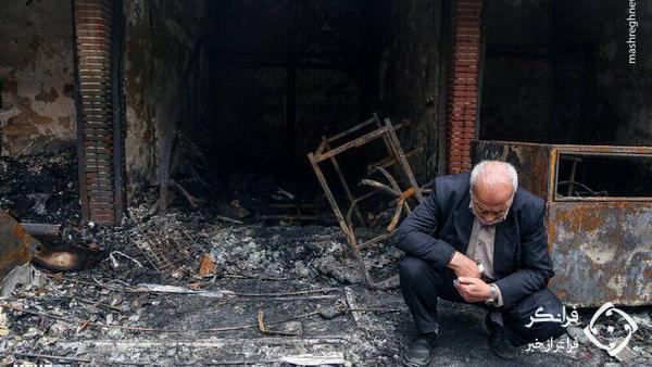 تلخ ترین صحنه حادثه ناگوار چند روز پیش تبریز + عکس