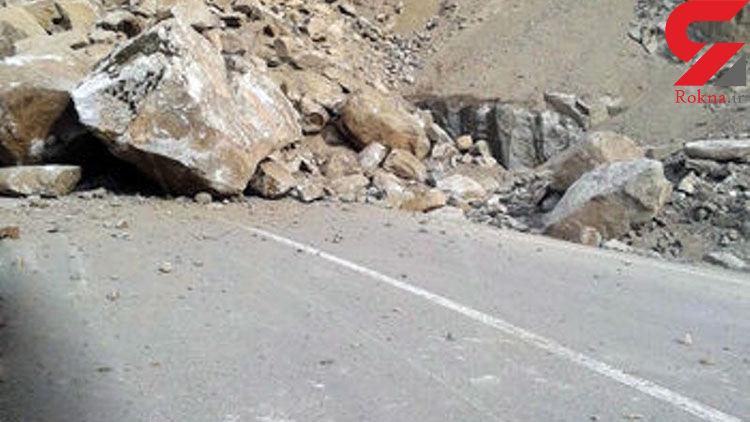 حرکت کوه در جاده هراز حادثه ای مرگبار رقم زد