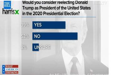 ترامپ دوباره رئیس جمهور می شود؟ ۵۳ درصد مردم آمریکا: نه!