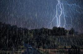 پیشبینی باران ۳روزه در ۱۷ استان/صاعقه و وزش باد شدید در تهران