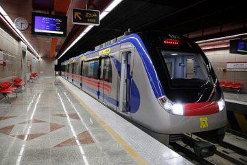 ۲ ایستگاه جدید در مترو تهران افتتاح شد