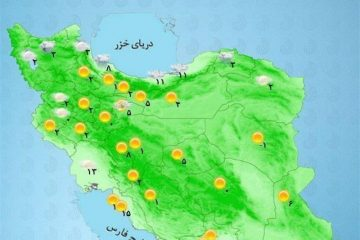 پیشبینی هواشناسی برای هفته آخر شهریور