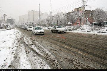 هواشناسی ایران ۹۸/۱۰/۰۴| آغاز بارش برف و باران ۵روزه در ۲۱ استان از عصر امروز