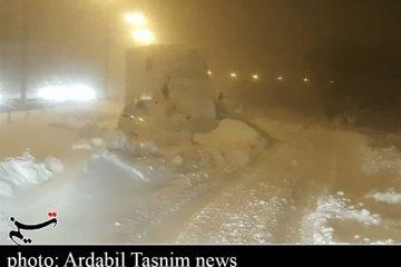 آزادراه قزوین-رشت همچنان مسدود است