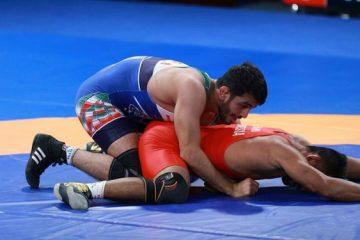 کشتی قهرمانی آسیا| ۳ طلا در انتظار ایران، طاهری به ردهبندی رفت