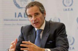 گروسی: ایران آژانس را در جریان غنیسازی ۶۰ درصد قرار داده است