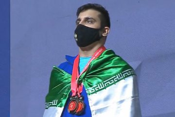 مسابقات وزنهبرداری قهرمانی آسیا| معتمدی اول شد و دهدار چهارم/ سه طلا برای ایران در ۱۰۲ کیلوگرم+جدول