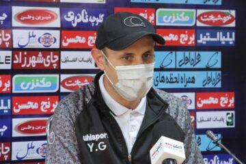 گلمحمدی: برای قهرمانی نباید مقابل پیکان تمرکزمان از بین برود