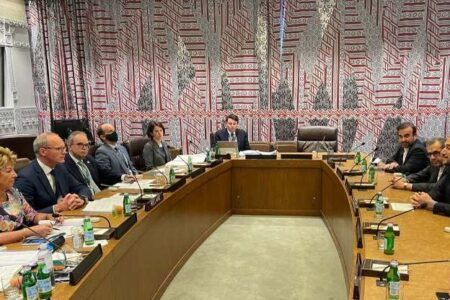 وزیران امور خارجه ایران و ایرلند دیدار کردند